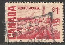Canada #465B (A225) VF USED - 1967 $1 Oil Field Near Edmonton, by H.G. Glyde