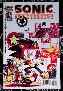 Sonic the Hedgehog #283 2016 Archie Action Comics LOW PRINT Sega
