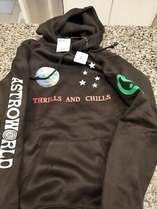 *NEW w/ Tags Astroworld Thrills and Chills Hoodie Men's Small Unbranded Version