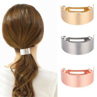 Simple Metal Hair Clips Women Hairpin Headwear Hair Barrette Hair Accessories.