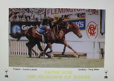 EMPIRE ROSE 1988 Melbourne Cup Print