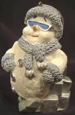 2000 Encore Snow Buddies Christmas Ornament Snowman Man 94484