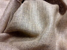 """Burlap 10 Yards 54"""" Wide 10 Oz Jute Natural Fabric Table top Vintage Upholstery"""