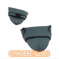2pcs Neoprene DSLR Camera Padded Soft Pouch Case Set-Small and Medium