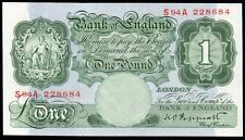 B260 PEPPIATT 1948 £1 BANKNOTE * S94A 228684 * FIRST SERIES * UNC *