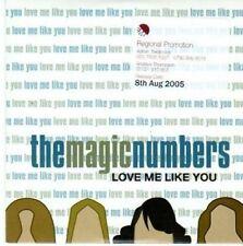 (BE63) The Magic Numbers, Love Me Like You - 2005 DJ CD