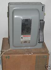 Siemens ITE Enclosed Switch HeavyDuty Vacu-Break Switch