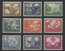 Germany Reich 1933 Wagner B49-B57 MH*
