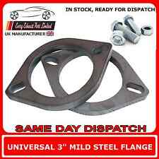 "2 x 3"" inch Flanges for Exhaust Pipe Joint Repair Flange + bolts Pair of 3"" 77mm"
