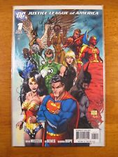 Wow! JUSTICE LEAGUE OF AMERICA #1 **SIGNED/NUMBERED BY MICHAEL TURNER!** COA!