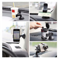 Car Accessories Phone Windshield Black GPS 360° Rotating Mount Holder Universal