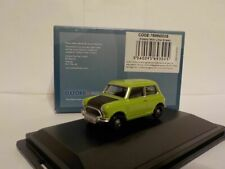 Mini, green /black, Mr bean style, Oxford Diecast 1/76 New Release