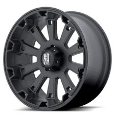 18 Inch Black Wheels Rims Jeep Wrangler JK XD Series Misfit XD800 Set of FIVE 5