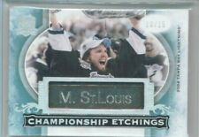 15/16 Upper Deck The Cup Martin St. Louis Championship Etchings #'ed 10/15