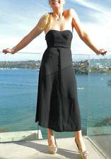 VINTAGE Glaze 1980s Original Sassy Button Front Flowing A- Line Retro Skirt