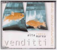 CD SINGLE ANTONELLO VENDITTI ALTA MAREA Remix BMG ITALY 2001 RARE