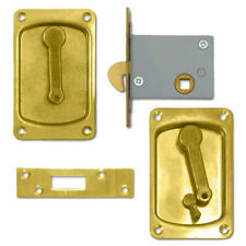 Willenhall Sliding Door Latch Snib 64 PB (WL-3000-6)