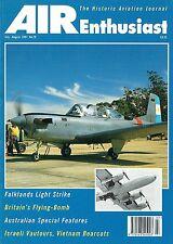 AIR ENTHUSIAST JUL-AUG 97: GRUMMAN WILDCAT/ AUSSIE NAT AIRWAYS/ T-34s v HARRIERS
