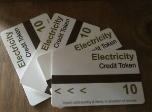 Ampy Electric Meter Card Code A £10 Credit for £1.50