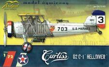 CURTISS O2 C-1 Helldiver Dive Bomber (Marines MARCATURE) 1/72 ardpol resina