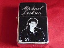 Michael Jackson Engraved Lighter With Gift Box - FREE ENGRAVING
