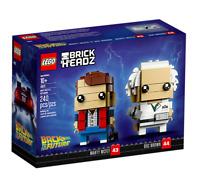 LEGO BRICKHEADZ • 41611 RITORNO AL FUTURO MARTY MCFLY & DOC BROWN RITIRATO NUOVO