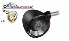 KELLERMANN Blinker Bullet 1000 PL LED Schwarz  (E-geprüft) mit Positionslicht
