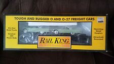 MTH ( rail king)  with 2 1957 Ford T-birds