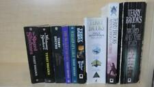 TERRY BROOKS - LOT OF 9 BOOKS- COMPLETE SERIES: WORD AND THE VOID, VOYAGE +