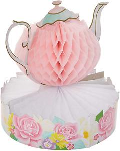Floral Tea Party Centerpiece, 1 ct