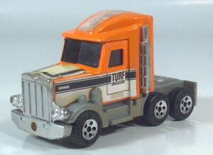 "Vintage Buddy L Peterbilt Turf Company Semi Tractor Cab 5.25"" Scale Model"