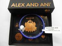 Alex and Ani Color Palette Electric Wrap Bangle Bracelet Rafaelian Silver NWTBC