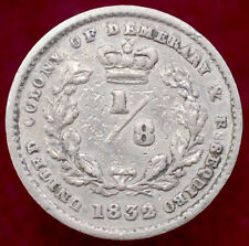 More details for essequibo and demerary eight (1/8) of a guilder 1832 (h1109)