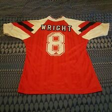 Ian Wright 8 Arsenal Football Shirt 1993 Signed By The Man Adidas 38�-40� Unworn
