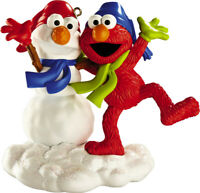 Carlton Heirloom Ornament 2012 Elmo Makes a Snowman - Sesame Street - #CXOR045B