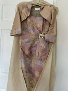Mother of the Bride Outfit Size 6, with Hat, Shoes and Bag, with boxes and cover