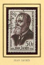 STAMP / TIMBRE FRANCE OBLITERE N° 1217 / CELEBRITE / JEAN JAURES