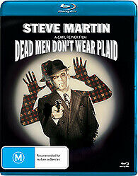 DEAD MEN DON'T WEAR PLAID BLU RAY - NEW & SEALED STEVE MARTIN, BOGART FREE POST