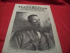 Frank Leslie's Illustrated Newspaper JESSEE JAMES KILLED AT ST.JOSEPH MISSOURI