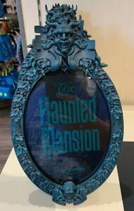 Disney Parks Haunted Mansion Gate Sign Plaque Photo Frame New