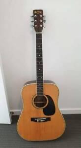 Vintage Kiso Suzuki W-300 Acoustic Guitar