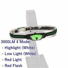 3000lm 3-Modes Headlight CREE XPE LED Camping Headlamp Head Torch Fishing Lamp
