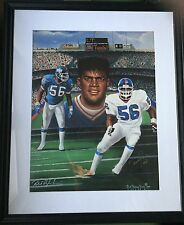 WOW ! 1991 PRO SPORT IMAGES SIGNED LAWRENCE TAYLOR LITHOGRAPH 23/250 R.S. SIMON