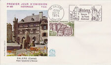 FRANCE FDC - 893 1793 5 SALERS flamme 22 6 1974 - LUXE