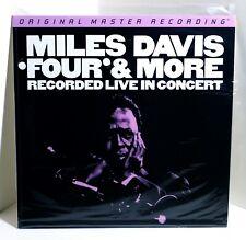 MILES DAVIS Four & More Live In Concert 180-gram VINYL LP Sealed MOFI Numbered