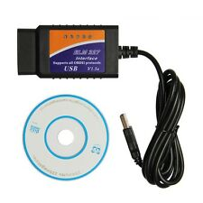 OBD2 II ELM327 V1.5 Auto USB Connection Car Diagnostic Scanner Tool for car