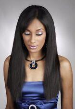 "10"" - 18"" Black Diamond Machine-Weft Natural Perm Human Remi Hair Extension"