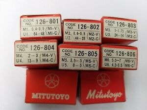 Mitutoyo Screw Thread Micrometre 126-801   or 126-805 or 126-806