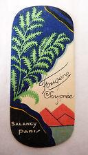"""ANCIENNE CARTE PARFUMEE """"FOUGERE CHYPREE"""" DE LA PARFUMERIE SALANCY"""
