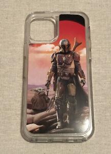 OtterBox Symmetry Hard Case for Apple iPhone 12 Pro - Mandalorian/Star Wars